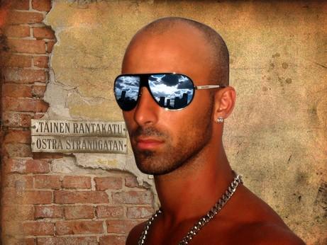 Reflet lunette de soleil Tutoriel Photoshop