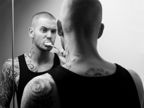 "Matt Pokora, Cyril de ""Secret"