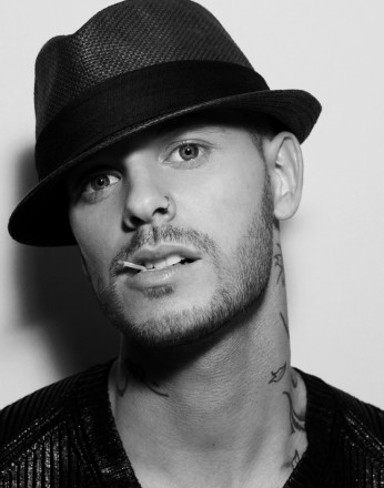 Photo matt pokora Chanteur