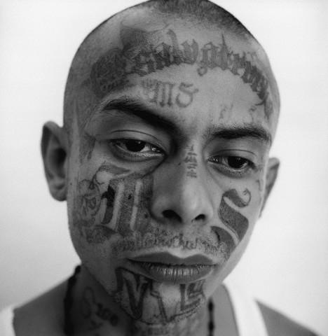 Photo tatouage mara trece Gang