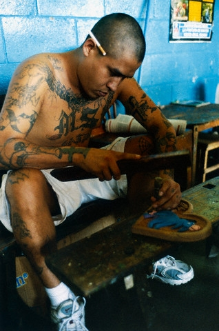 Photo mara salvatrucha prison Gang