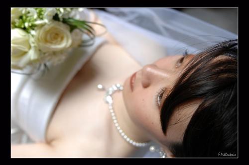 Photo portrait de mariée Mariages