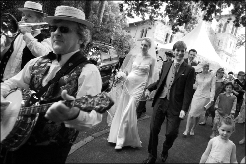 Photo photo cortege Mariages
