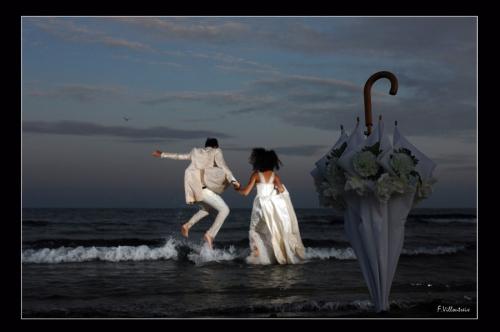 Photo un soir à la plage Mariages