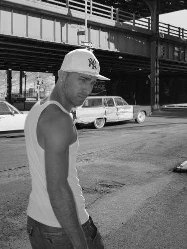 Photo Junior au Bronx Noir et Blanc