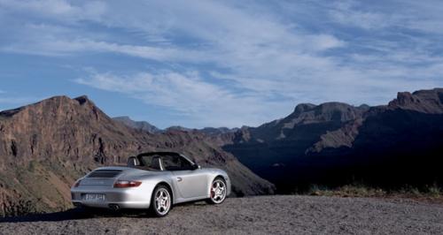 Photo 911 carrera 4 cabriolet Porsche
