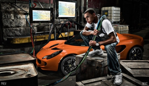 Photo Chris Brown Rappeur